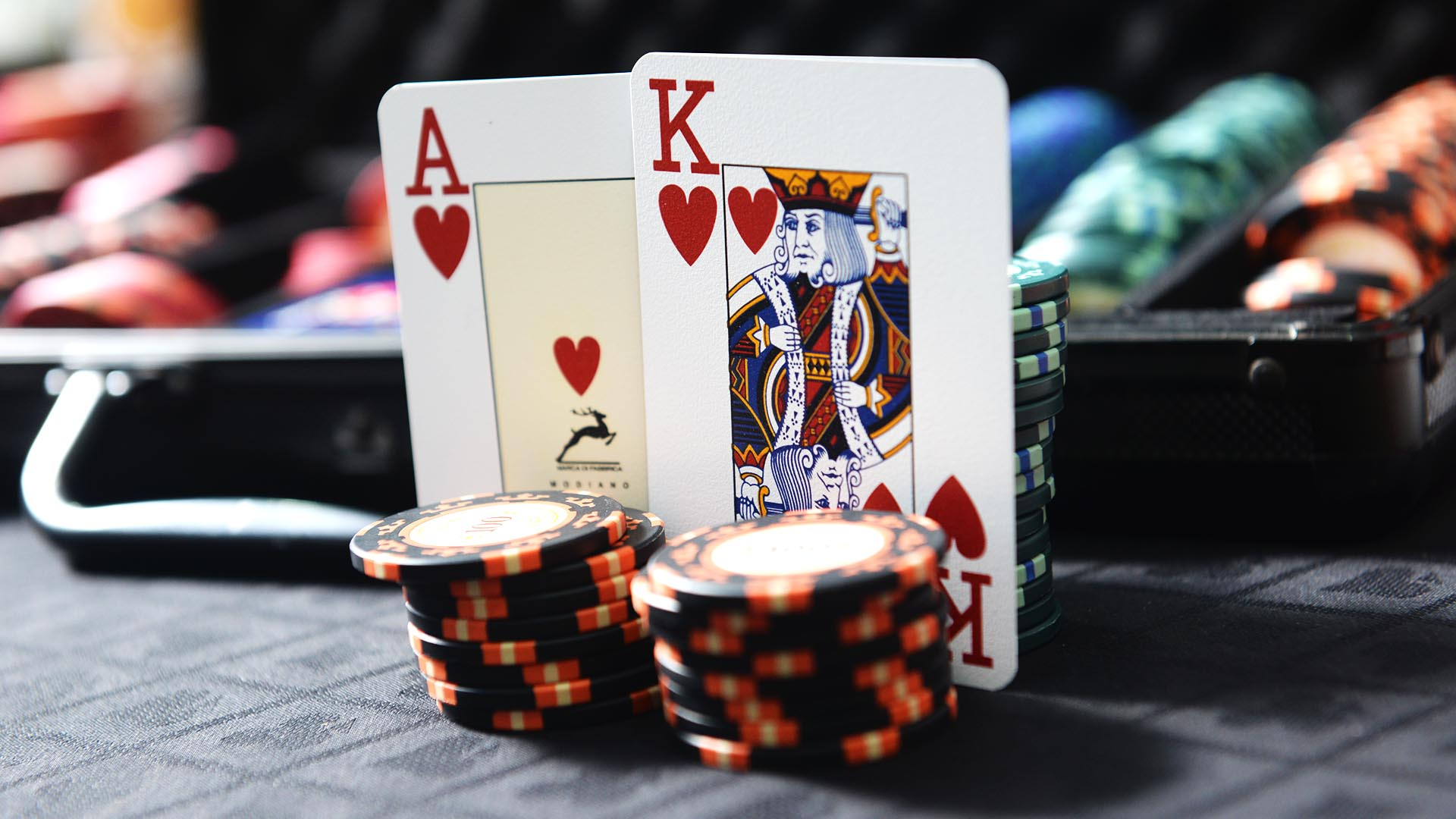 a poker straight